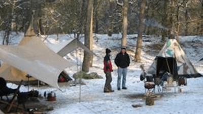 Winterkamperen met de Combi-Camp vouwwagen