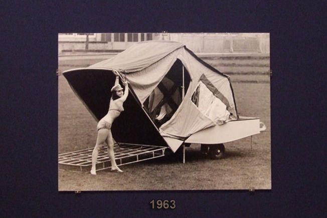 Combi-Camp vouwwagens 1963