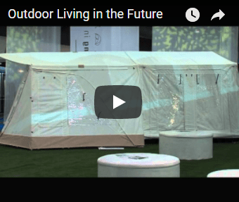 Video outdoor living in the future