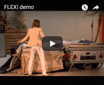Video FLEXI Tent & Trailer demo
