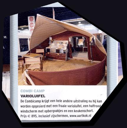 Combi-Camp vouwwagen met luifel kopen