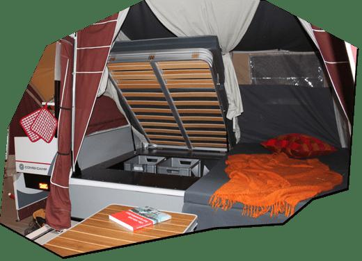 Combi-Camp vouwwagen lits jumeaux