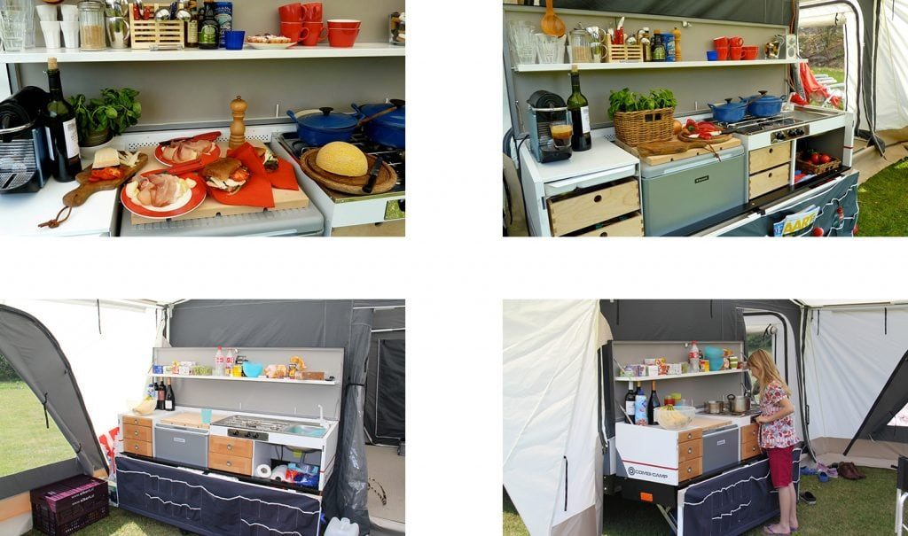 Combi camp country keuken vouwwagen combi camp