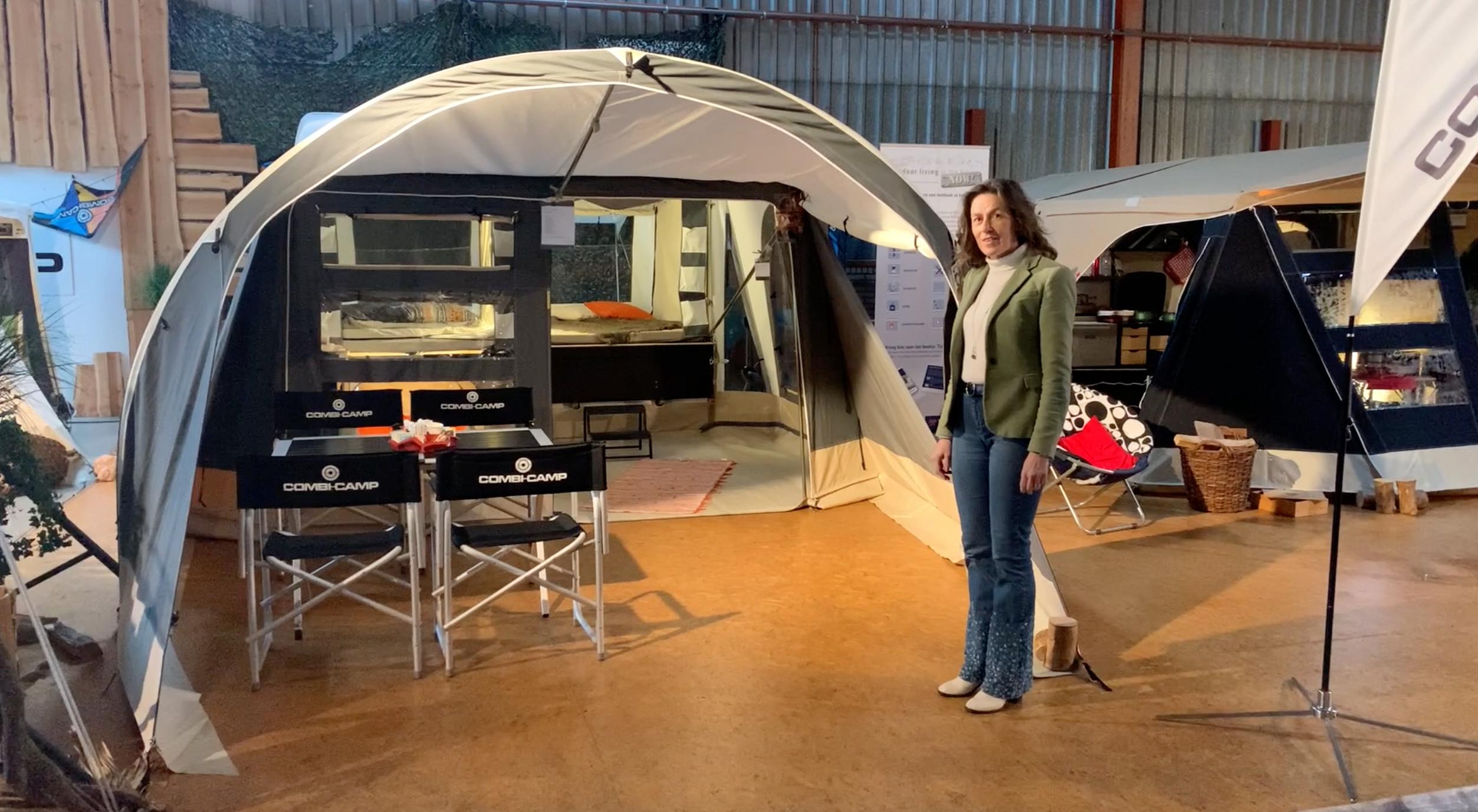Combi-Camp FLEXI Comfort vouwwagen