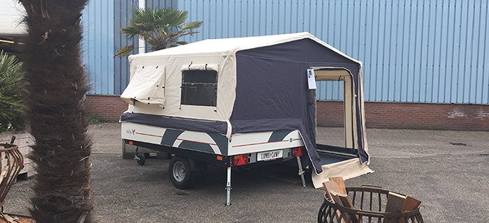 Combi-Camp Valley Pure vouwwagen