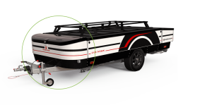 Combi-Camp disselbak vouwwagen