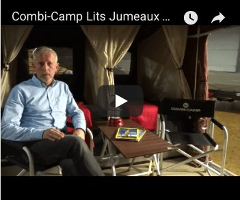 Aico vertelt over het lits jumeaux bed in de Combi-Camp vouwwagen