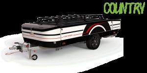 Combi-Camp Country vouwwagen vrijstaand
