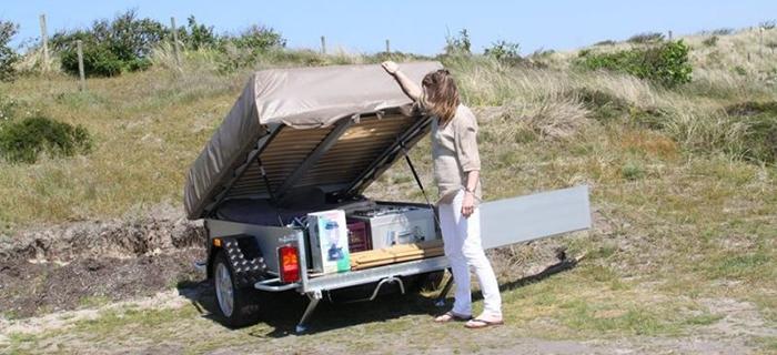 FLEXI Tent & Trailer
