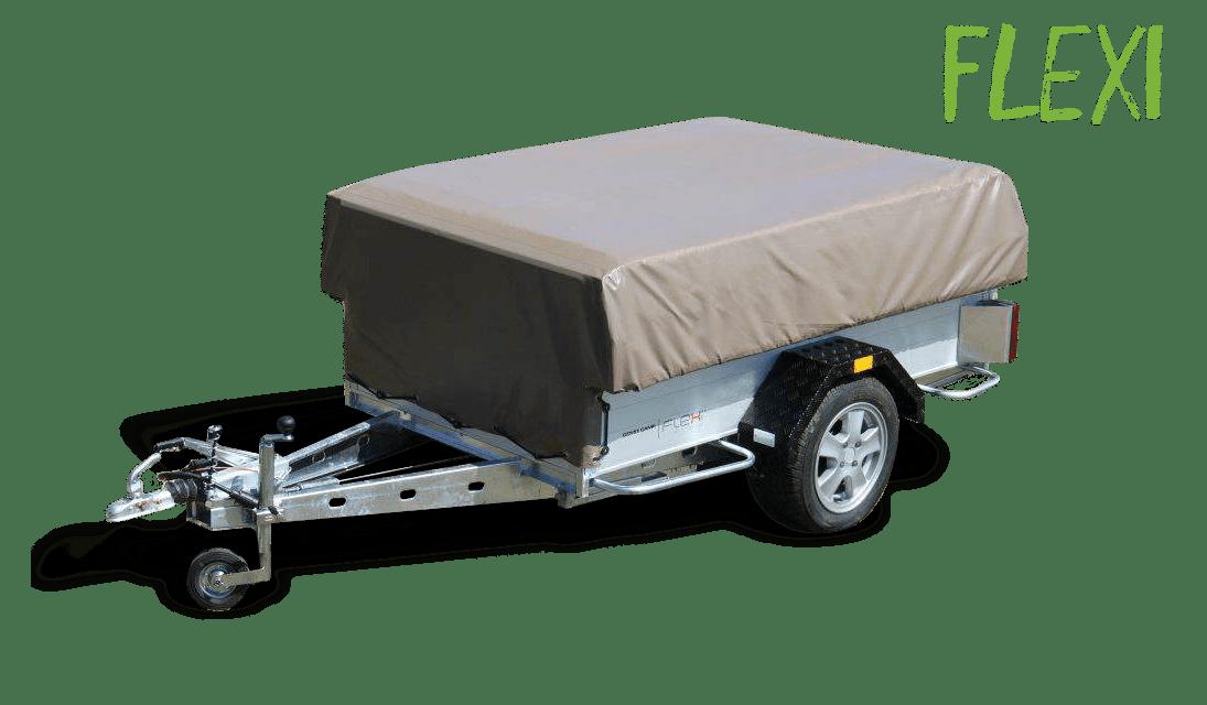 Combi-Camp FLEXI vouwwagen vrijstaand