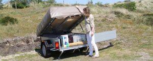 Combi-Camp FLEXI Tent en Trailer laden en lossen