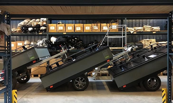 Grijze Combi-Camp Valley Pure Nordic Edition Vouwwagen kopen