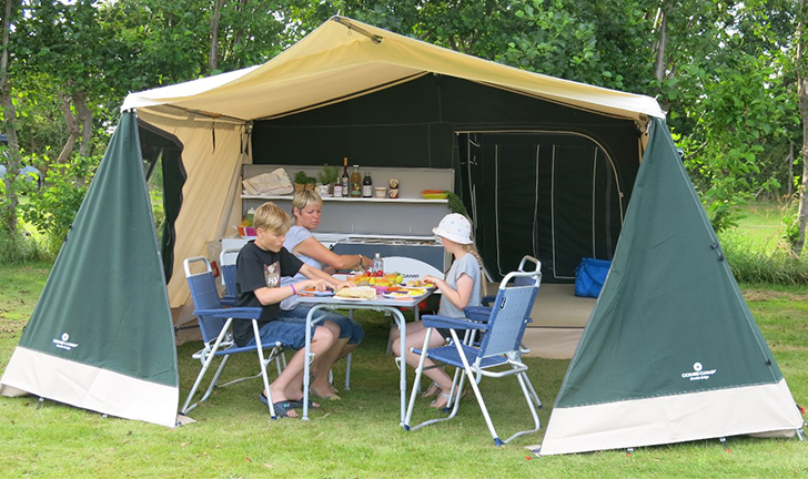 Groene Combi-Camp Country kopen