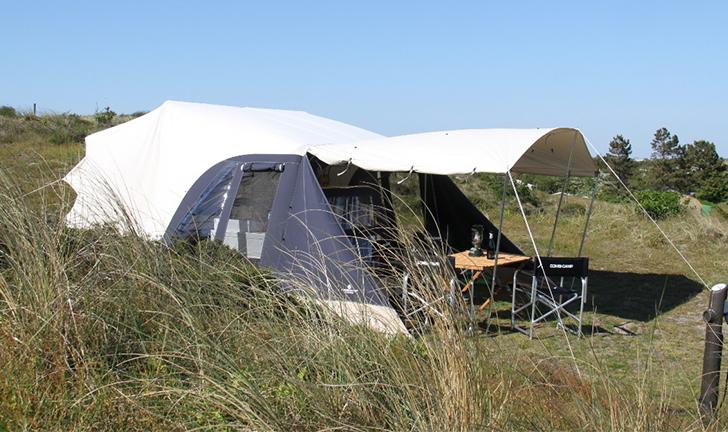 Combi-Camp FLEXI ecru/grijs vouwwagen kopen
