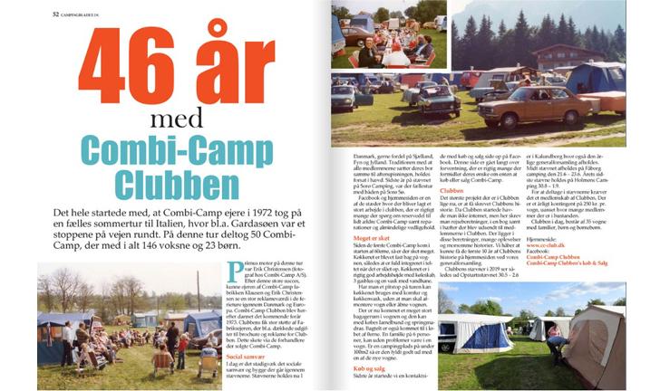artikel over 46 jaar combi-camp clubben