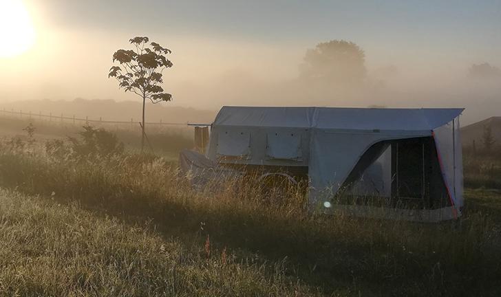 Combi-Camp Country vouwwagen in de natuur