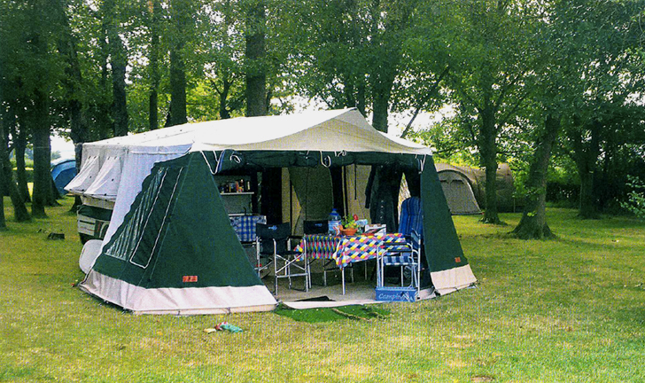 Combi-Camp Country vouwwagen in ASCI magazine
