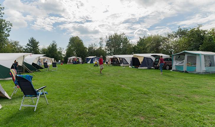 Combi-Camp vouwwagens op het Club weekend