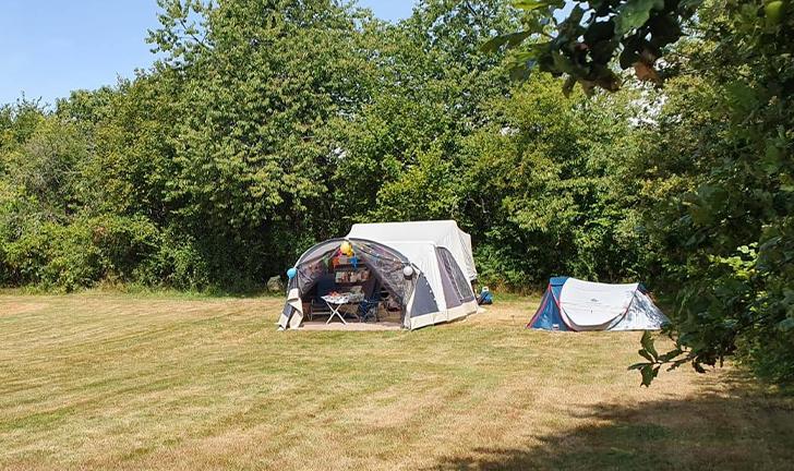 Combi-Camp Flexi op de camping in Frankrijk