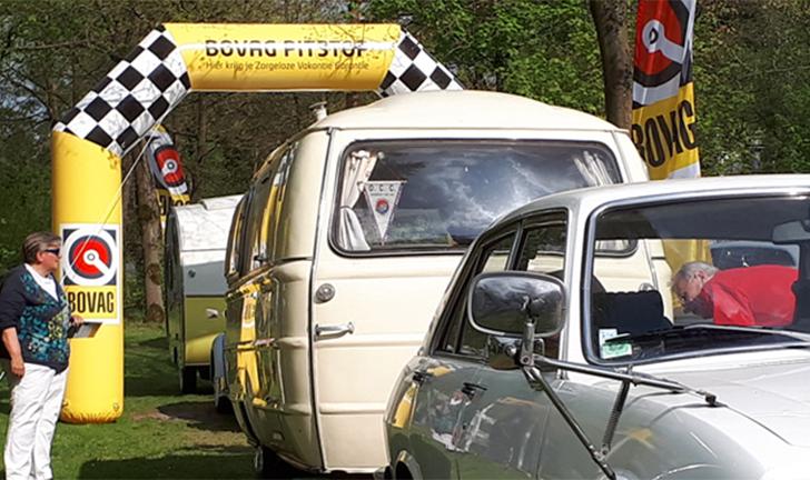 BOVAG-service voor de Combi-Camp vouwwagen