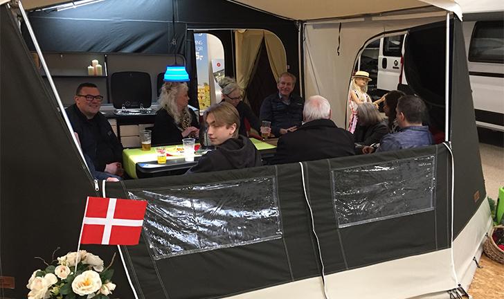 Deense Combi-Camp vouwwagen dealer Silkeborg bestaat 35 jaar