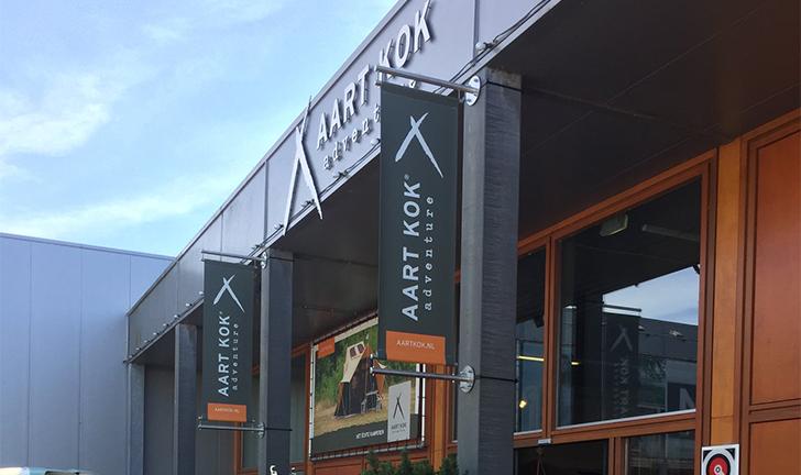 Aart Kok Adventure showroom in Roden