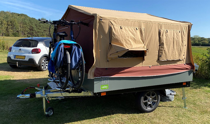 Combi-Camp Valley Pure Nordic Edition vouwwagen op camping